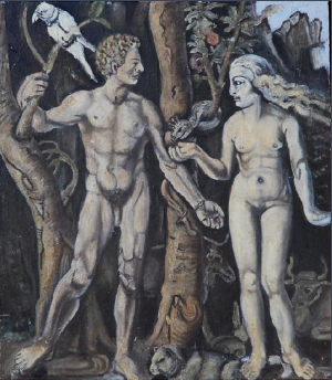 Study for Adam and Eve