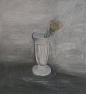 Flowers in Grey